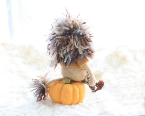 かぼちゃとライオン