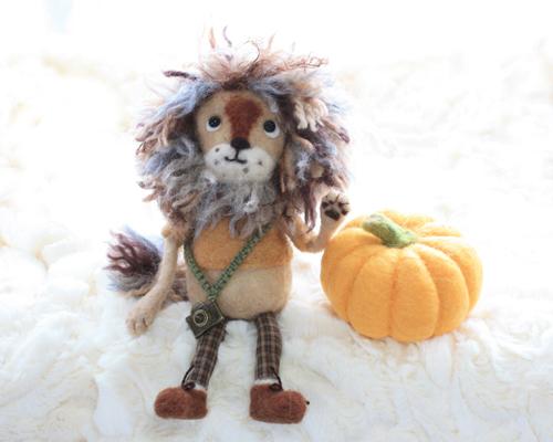 かぼちゃとライオン4