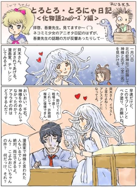 とろにゃ日記化物語2nd編