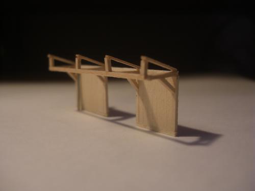 鉄道模型 駅舎 待合3