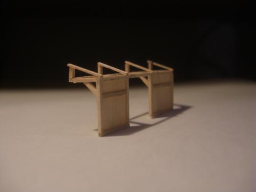 鉄道模型 駅舎 待合4