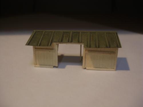 鉄道模型 駅舎 待合6