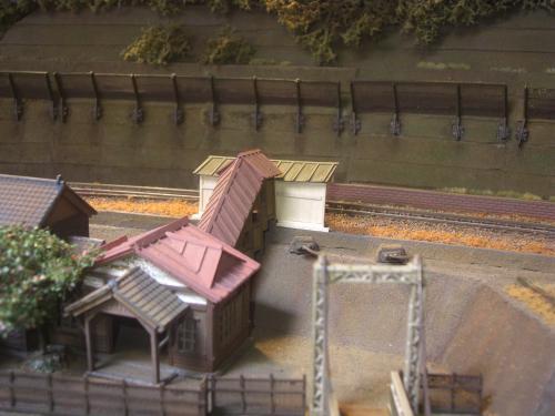 鉄道模型 駅舎 待合8