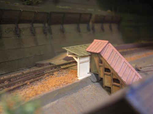 鉄道模型 駅舎 待合9
