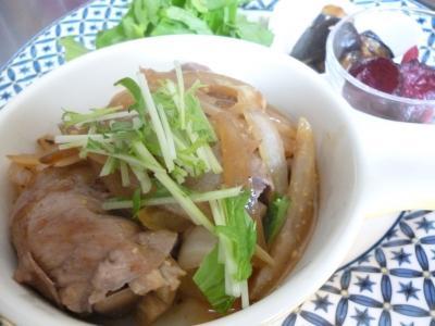 豚と野菜の生姜焼き