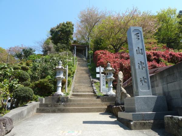 天山神社石段2
