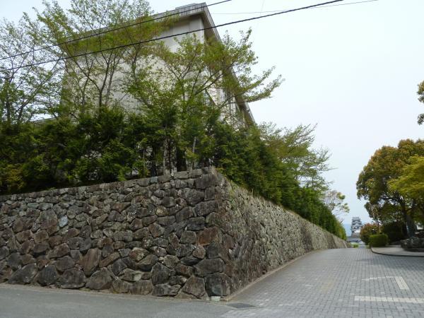 三の丸石垣4
