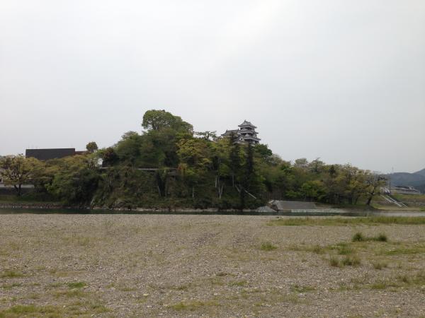 肱川と大洲城3