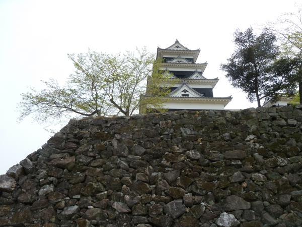 石垣と大洲城9