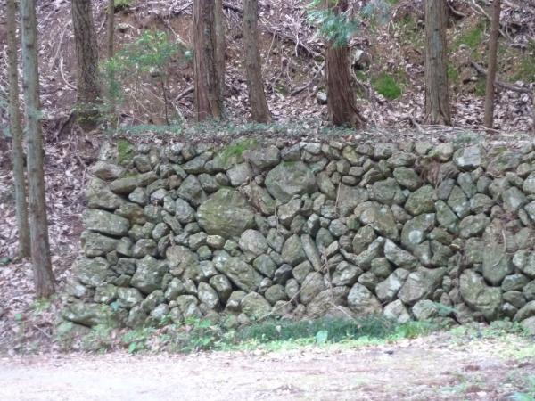 松葉城とりで石垣11
