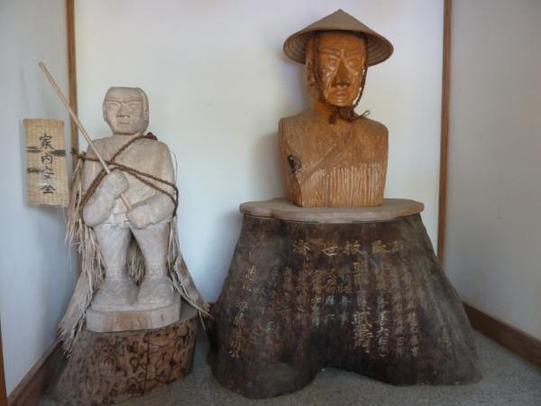 日吉武左衛門木像9