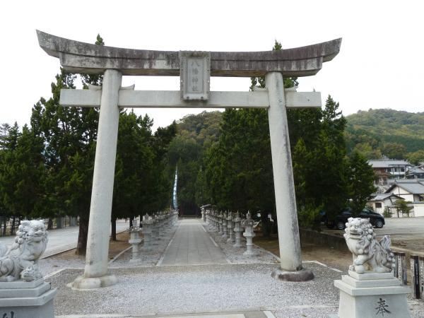 宇和島八幡神社鳥居5