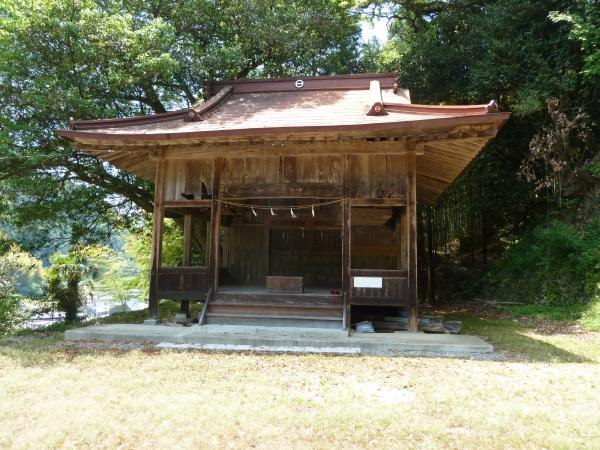 両新田神社社殿8