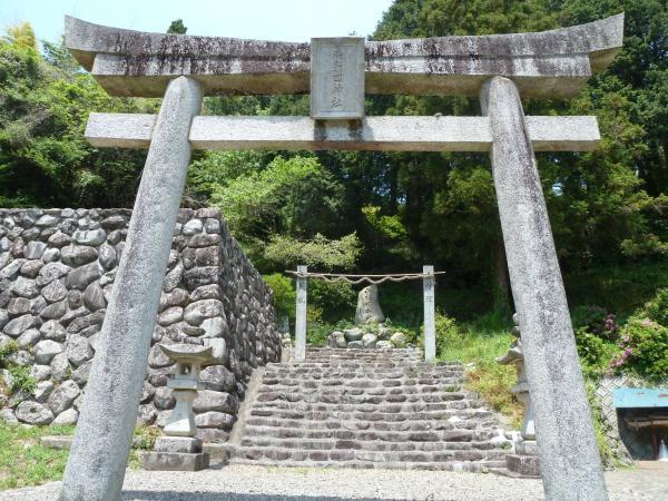 両新田神社鳥居7
