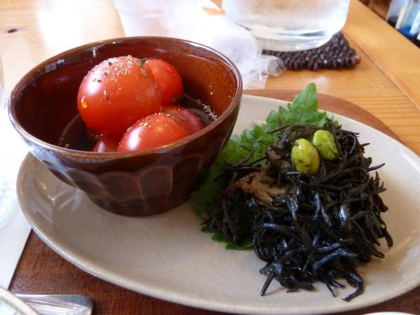ヒジキとトマト5