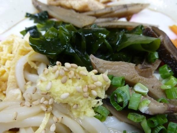 椎茸とワカメ8