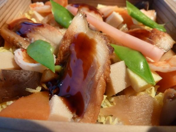 蒸し寿司穴子6