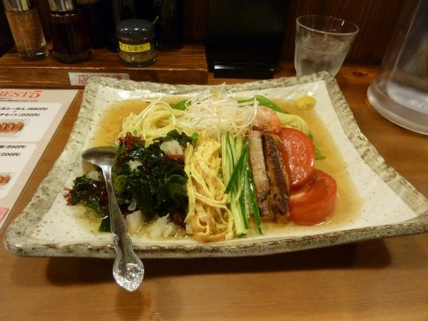 スープ冷麺1