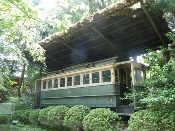 日本最古の電車11