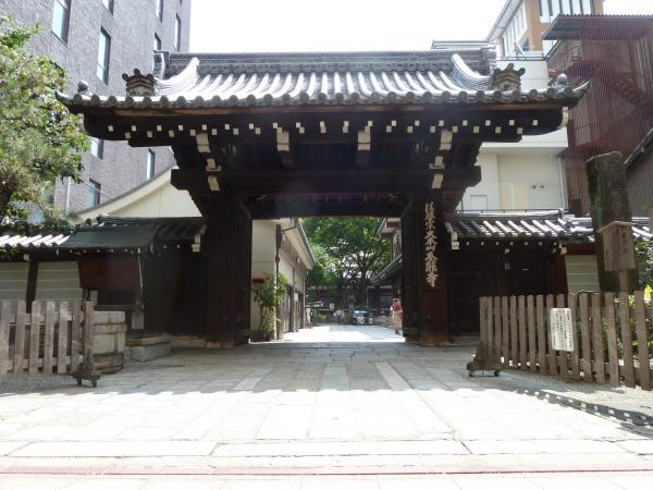 本能寺山門8