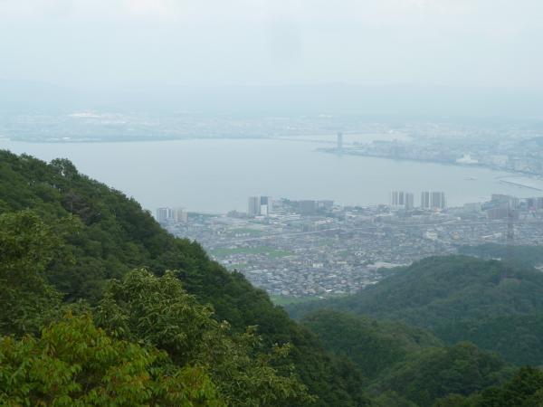 比叡山から琵琶湖1