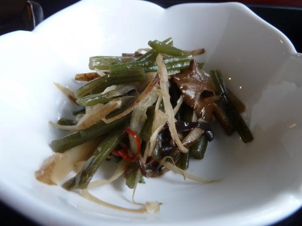 山菜きんぴら8