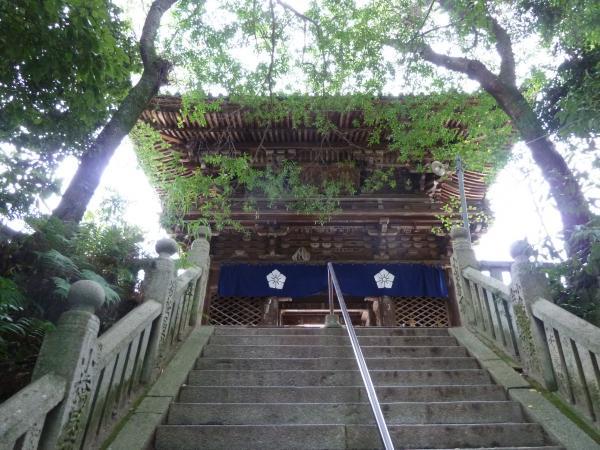 太山寺山門5