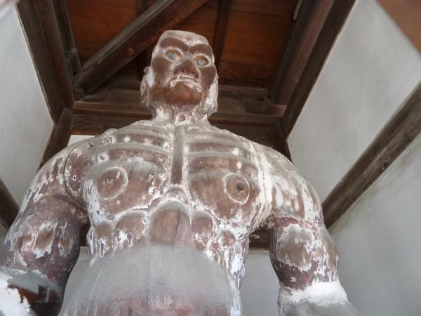 円明寺吽像4