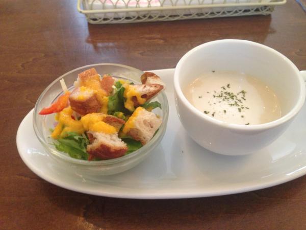 サラダとスープ4