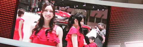 ☆大塚まゆり@第43回 東京モーターショー2013 日産ブース☆