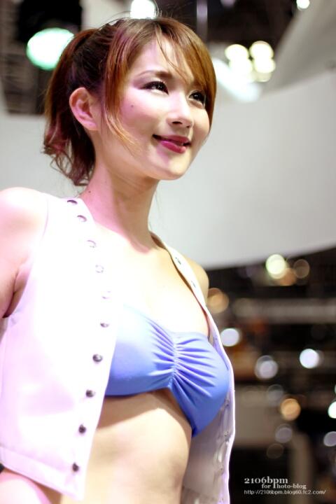 前田真麻(まえだまあさ) / スズキ EP16 -TOKYO MOTOR SHOW 2013-