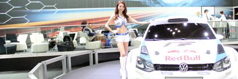 ☆第43回 東京モーターショー2013 フォルクスワーゲンブースのコンパニオンさんモデルさんをまとめてうp☆