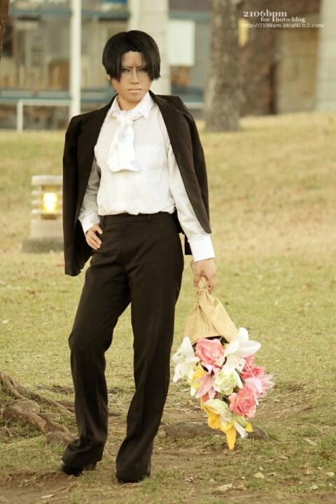 ☆蓮(リヴァイ/進撃の巨人)@パシフィコ横浜(横浜大華装祭)☆