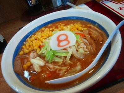 野菜味噌+コーン