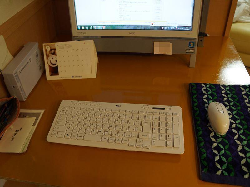手作りのパソコン台