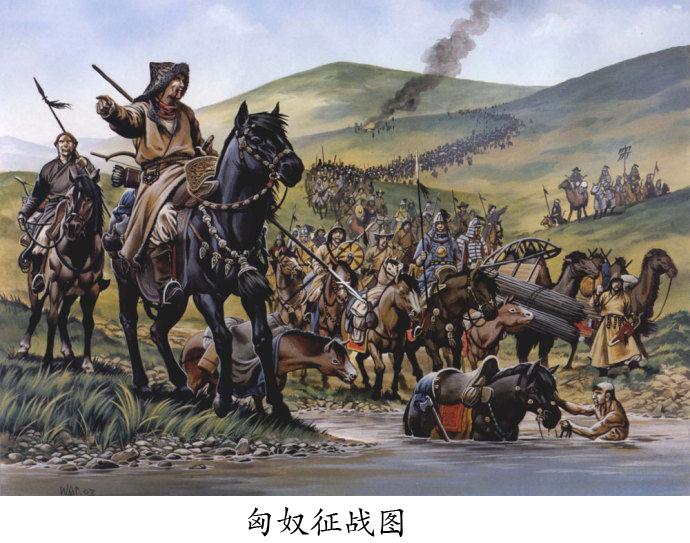 匈奴征战图