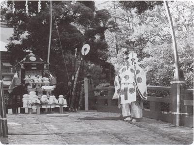 橋上祭(神楽奉納)