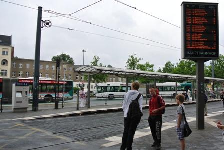 ポツダム駅前