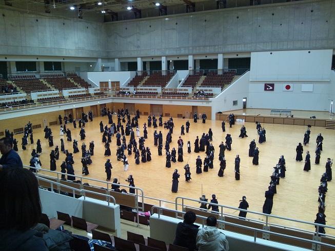 20140104秋田県剣道連盟稽古始め③