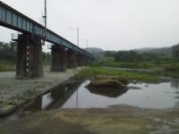 本日の橋梁下1