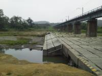 本日の橋梁下2