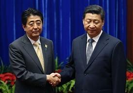 安倍首相 習近平 北京APEC