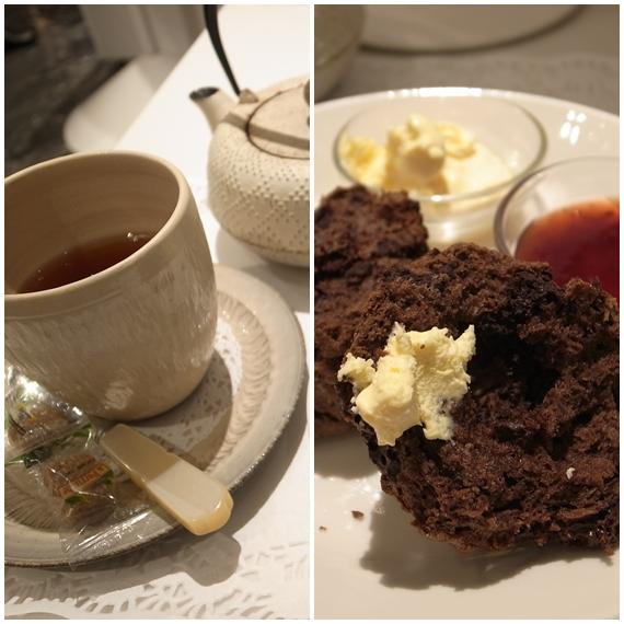 チョコレートの紅茶