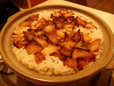 ローズマリー&ポテト 炊き込みご飯