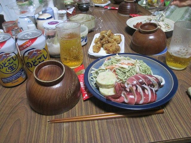 平成25年9月7日・夕食決起会