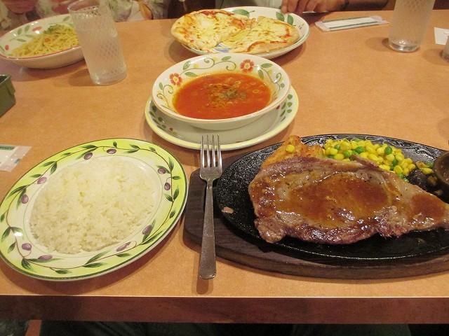 平成25年10月10日・夕食・サイゼリア