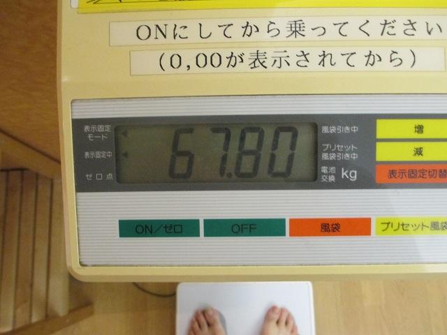 20131013・スポーツクラブ体重計