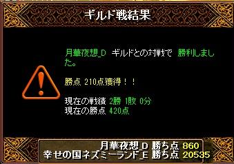 13.3.28月華夜想様 結果
