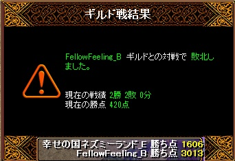 13.3.31FellowFeeling様 結果