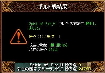 13.4.4Spirit of Fire様 結果